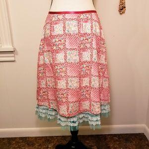 Anthropologie Snak vintage skirt